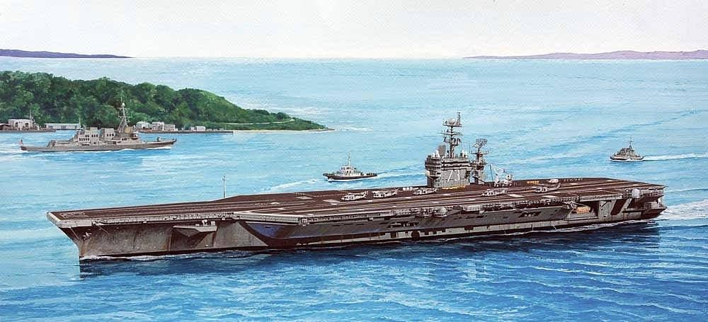 【新製品】M43)ニミッツ級航空母艦 CVN-73 ジョージ・ワシントン 2008