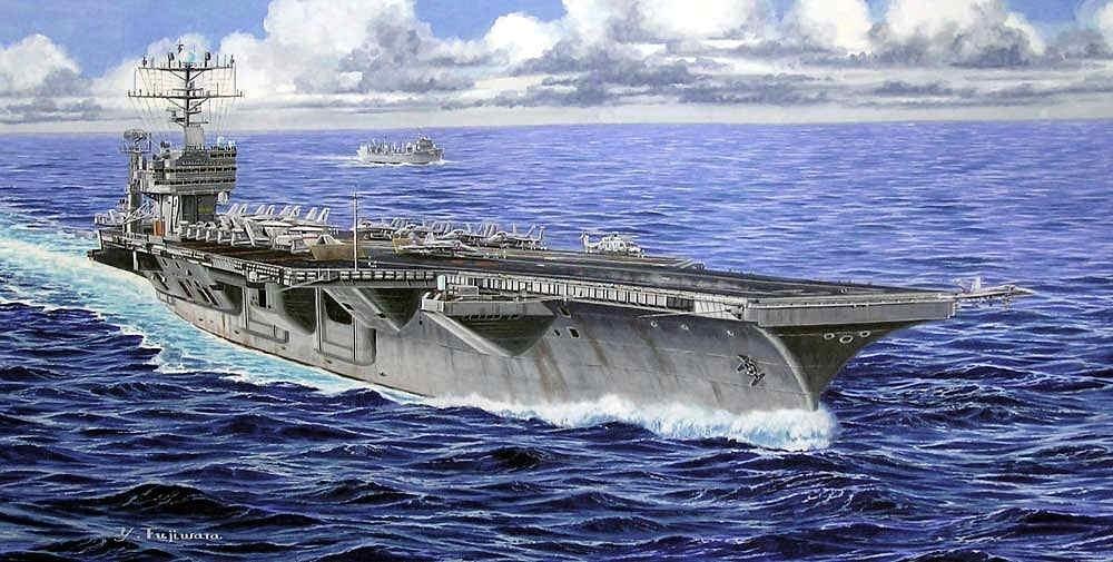【新製品】M44)ニミッツ級航空母艦 CVN-72 エイブラハム・リンカーン