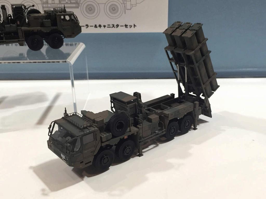 【新製品】SGF08)陸上自衛隊 12式地対艦誘導弾 新型トレーラー&キャニスターセット