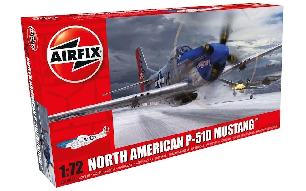 【新製品】A01004A)ノースアメリカン P-51D マスタング