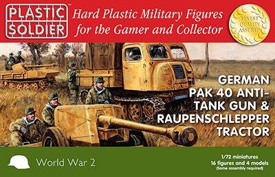 【新製品】WW2G20005)RSOトラクター & 7.5cm Pak40対戦車砲