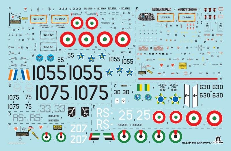 【新製品】1334)エアロマッキ MB-326K インパラ