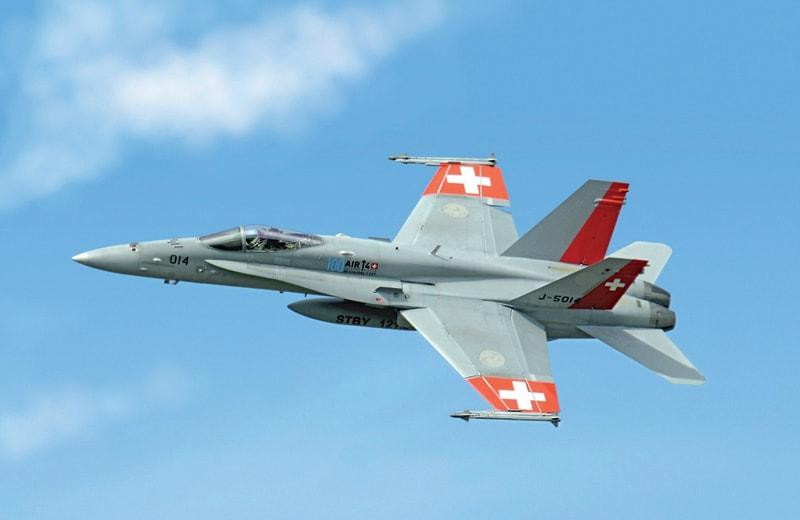 【新製品】1385)F/A-18 ホーネット スイス空軍