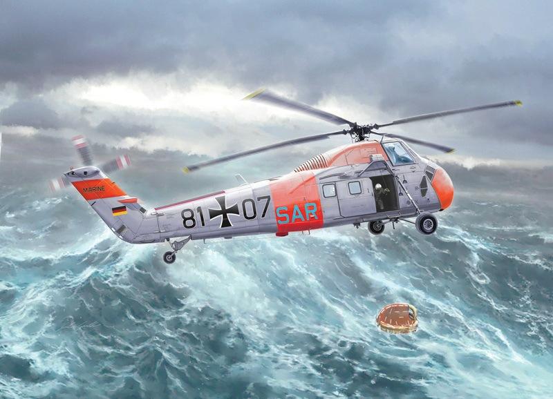 【新製品】2712)シコルスキー H-34G.III/UH-34J