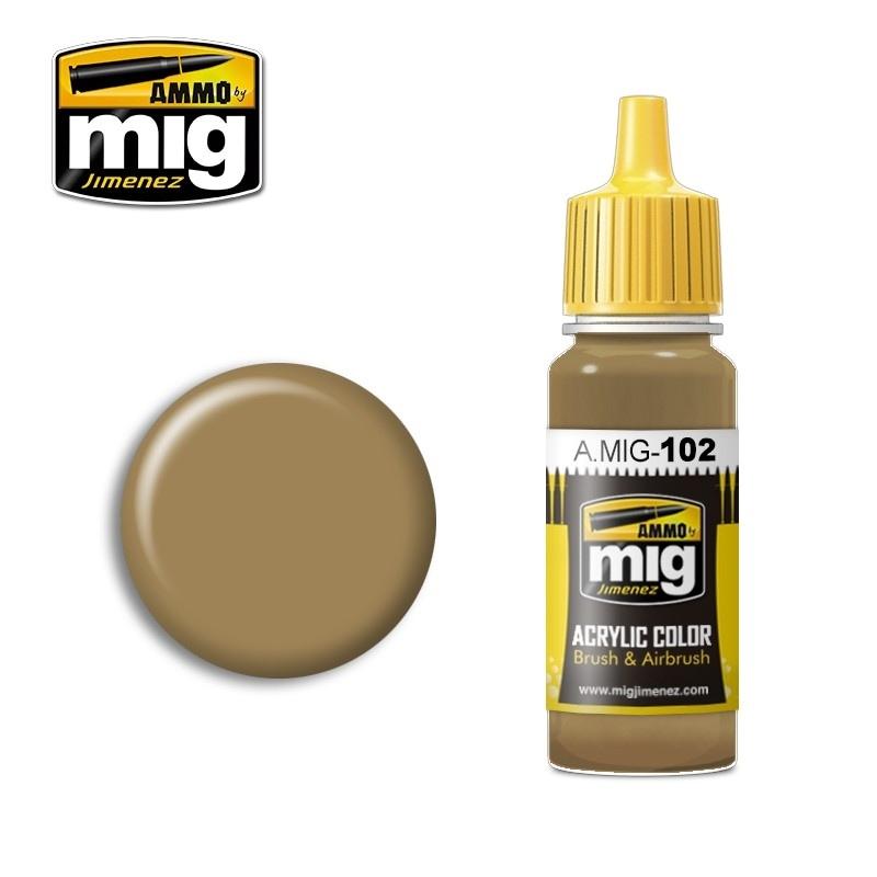 【新製品】A.MIG-102)黄土色