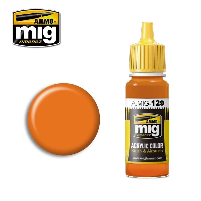 【新製品】A.MIG-129)オレンジ