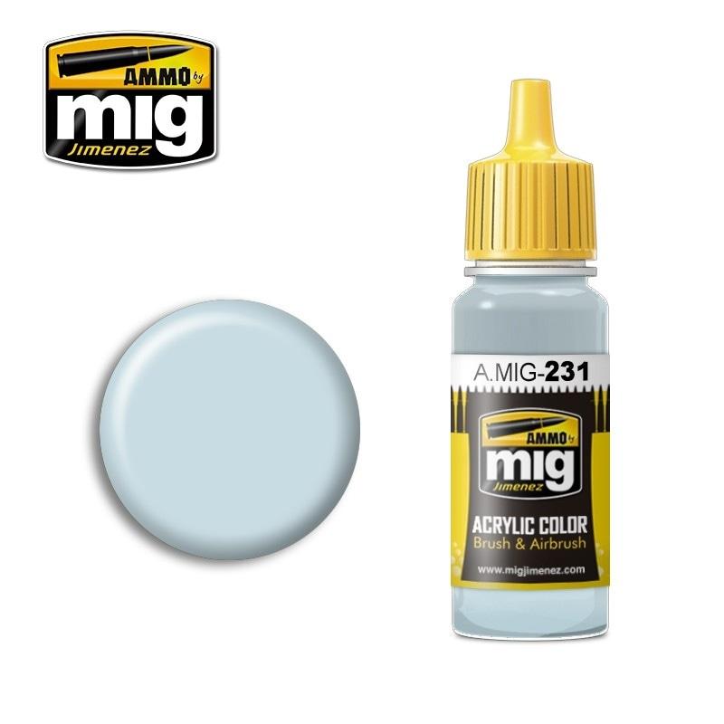 【新製品】A.MIG-231)RLM65 ヘルブラウ(ライトブルー)