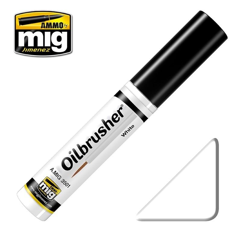 【新製品】A.MIG3501)オイルブラッシャー ホワイト