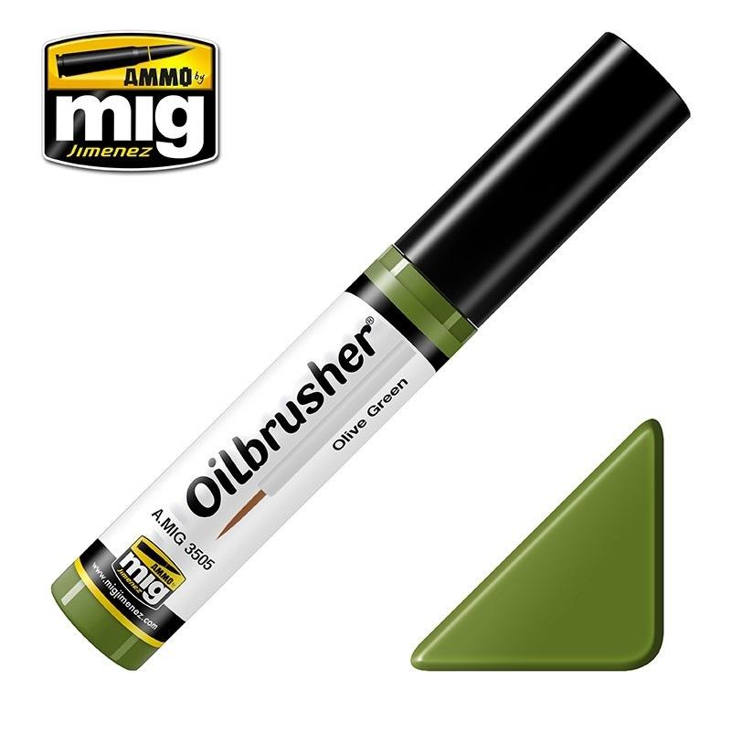【新製品】A.MIG3505)オイルブラッシャー オリーブグリーン