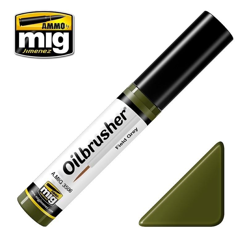 【新製品】A.MIG3506)オイルブラッシャー フィールドグリーン