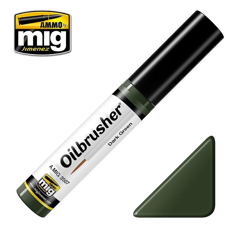 【新製品】A.MIG3507)オイルブラッシャー ダークグリーン
