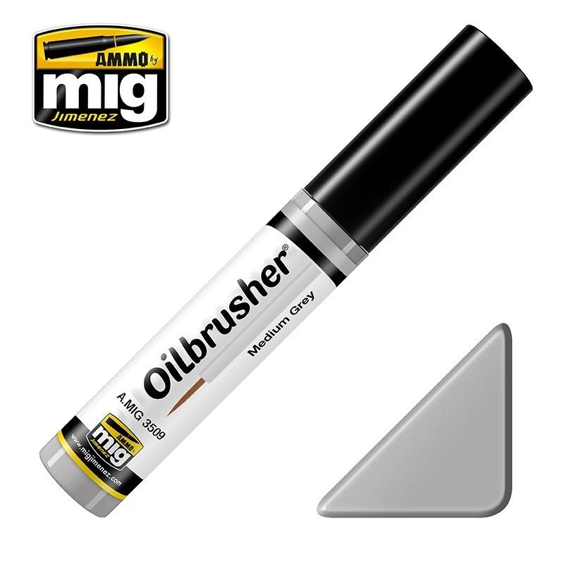【新製品】A.MIG3509)オイルブラッシャー ミディアムグレイ