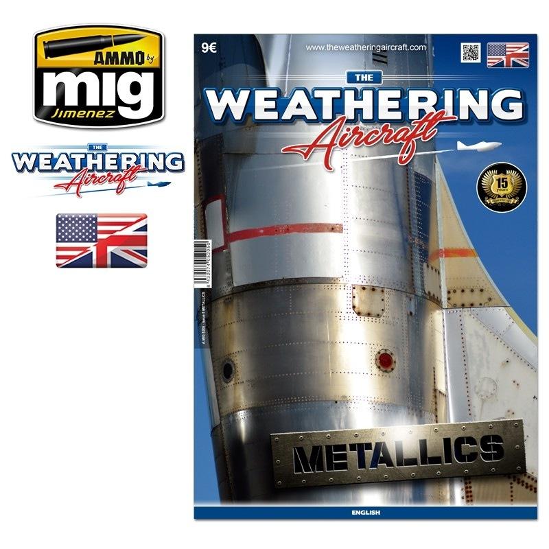 【新製品】A.MIG5205)ウェザリングエアクラフト 第5号 メタリック特集