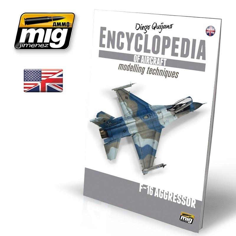 【新製品】A.MIG6055)エンサイクロペディア・オブ・エアクラフト6 エクストラ F-16 アグレッサー