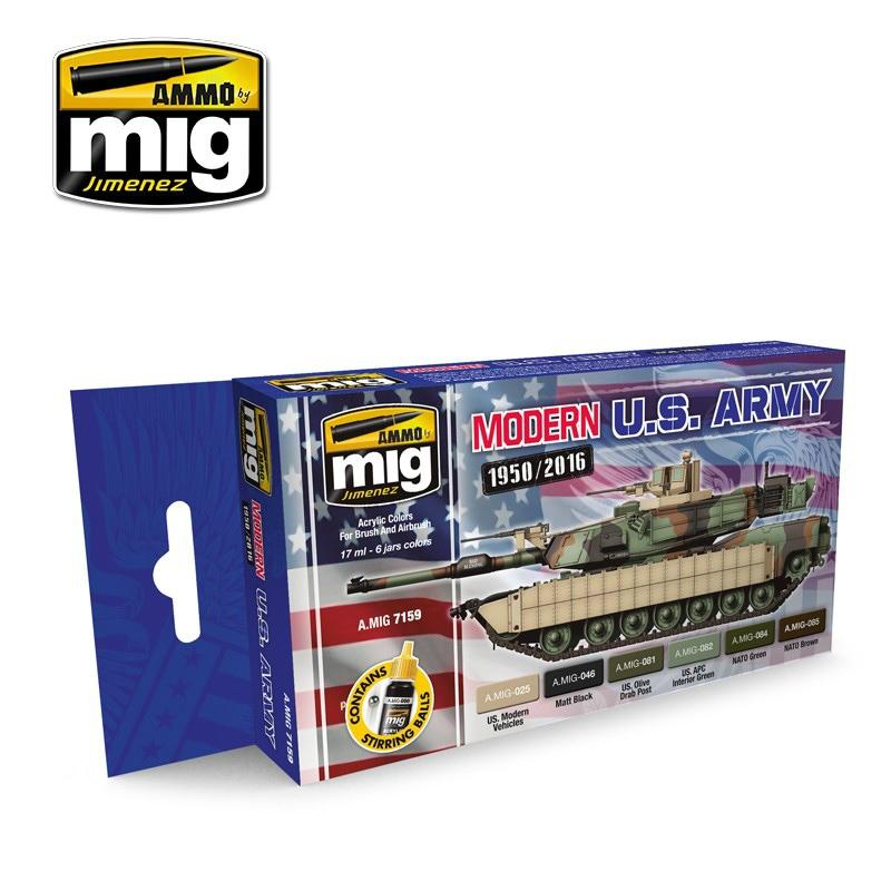 【新製品】A.MIG7159)現用アメリカ陸軍カラーズ