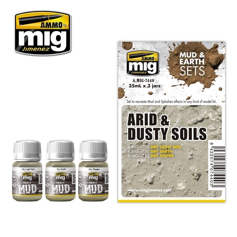 【新製品】A.MIG-7440)乾燥した土