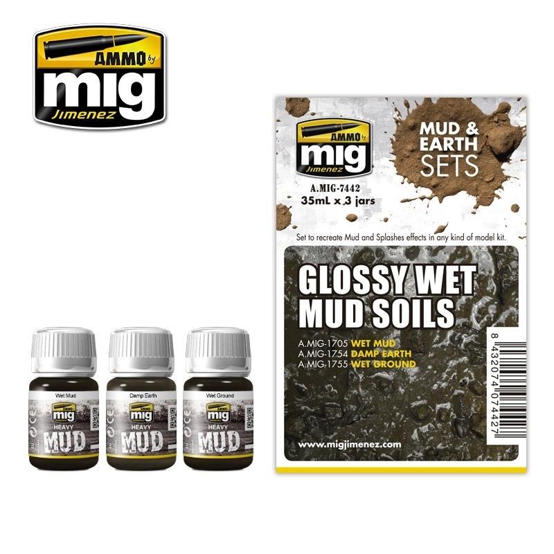 【新製品】A.MIG-7442)光沢のある湿った土