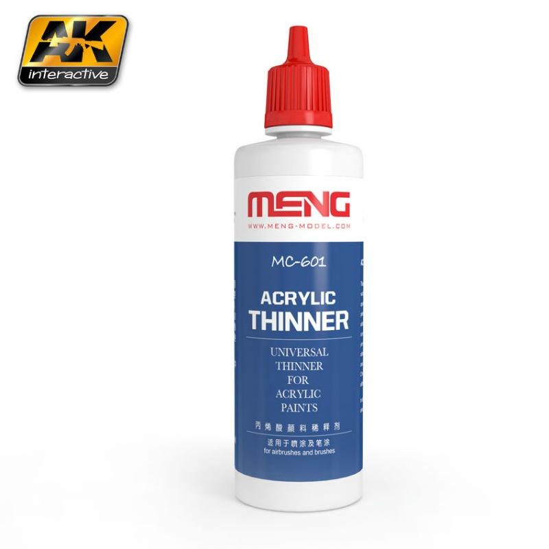【新製品】MC601)アクリルシンナー 100ml