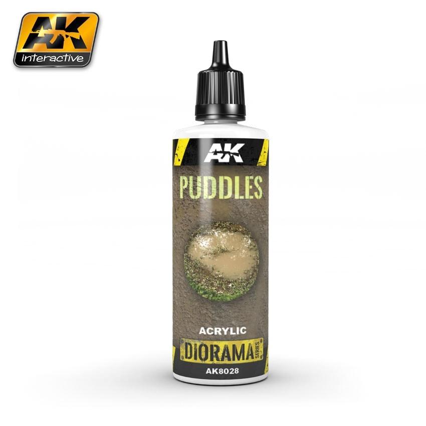 【新製品】AK8028)パドル液(水溜り表現)[水性アクリル系]