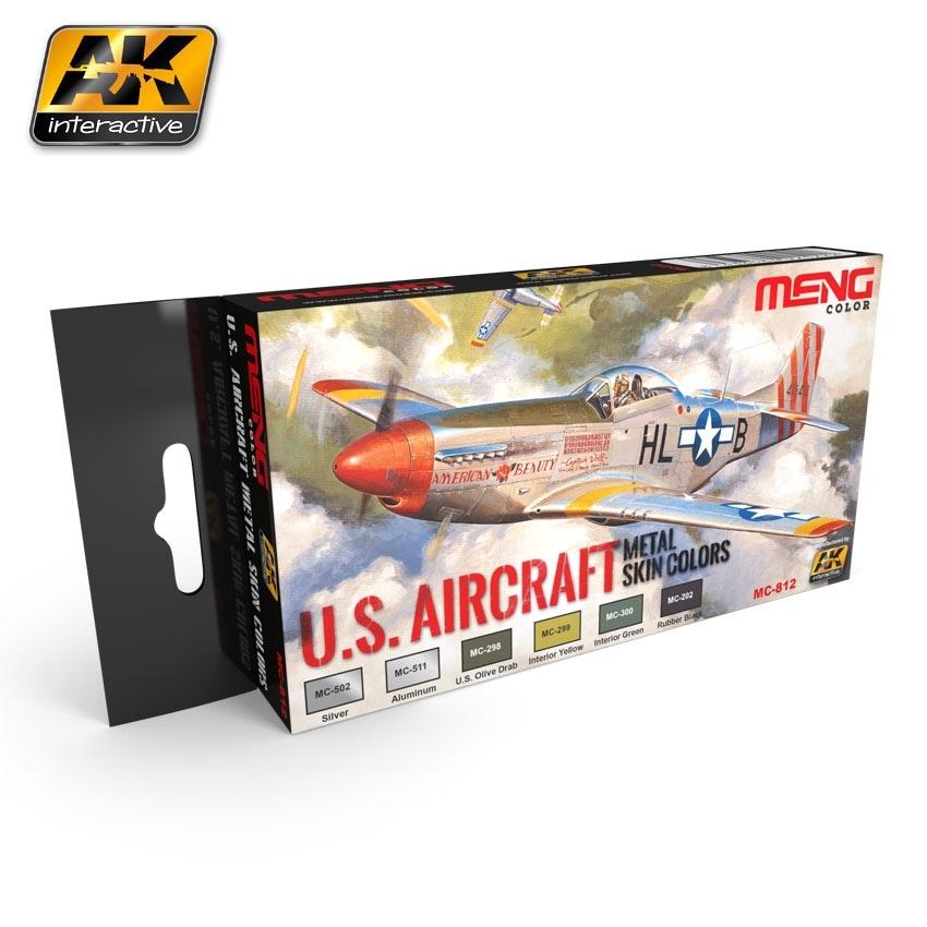 【新製品】MC812)アメリカ航空機 メタルスキンカラーズ