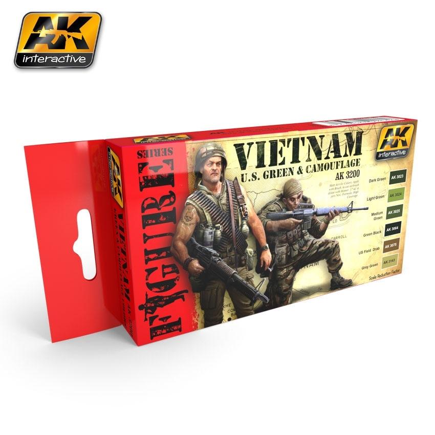 【新製品】AK3200)USベトナム戦争ユニフォームカラーズ