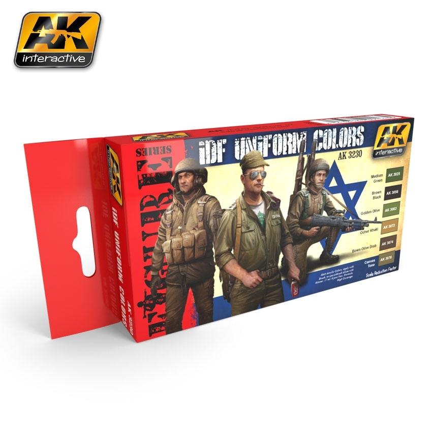 【新製品】AK3230)IDFユニフォームカラーズ