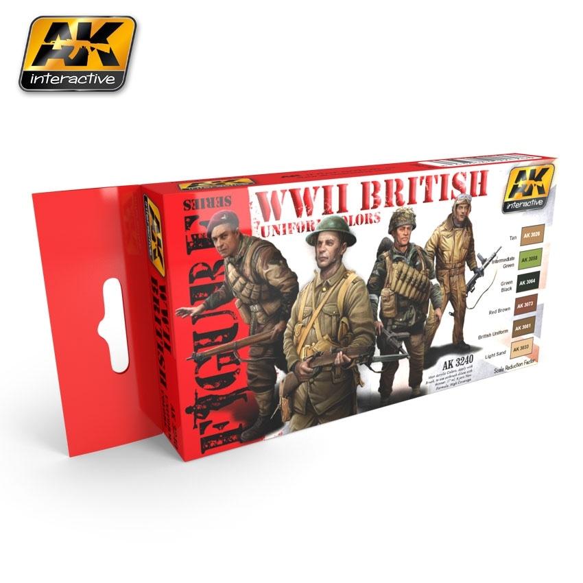 【新製品】AK3240)WWII イギリスユニフォームカラーズ