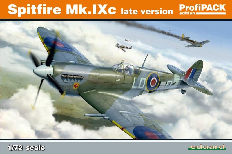 【新製品】70121)スピットファイア Mk.IXc 後期型