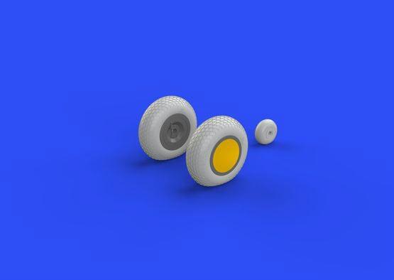 【新製品】ブラッシン632080)P-40 車輪