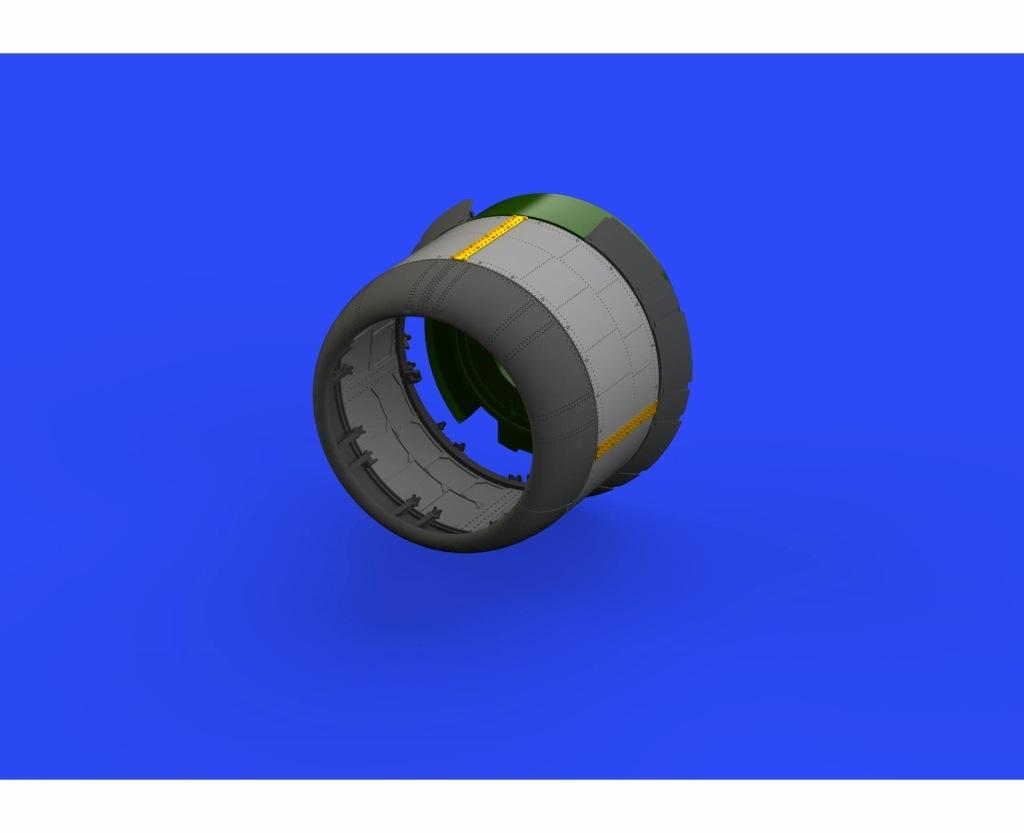 【新製品】ブラッシン632105)F4U-1 カウリングw/2種冷却フラップ