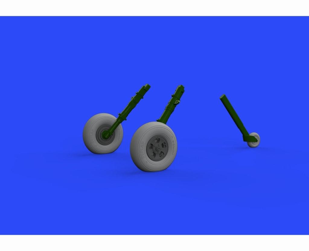 【新製品】ブラッシン632107)スピットファイアMk.IX ホイール(5本スポーク)