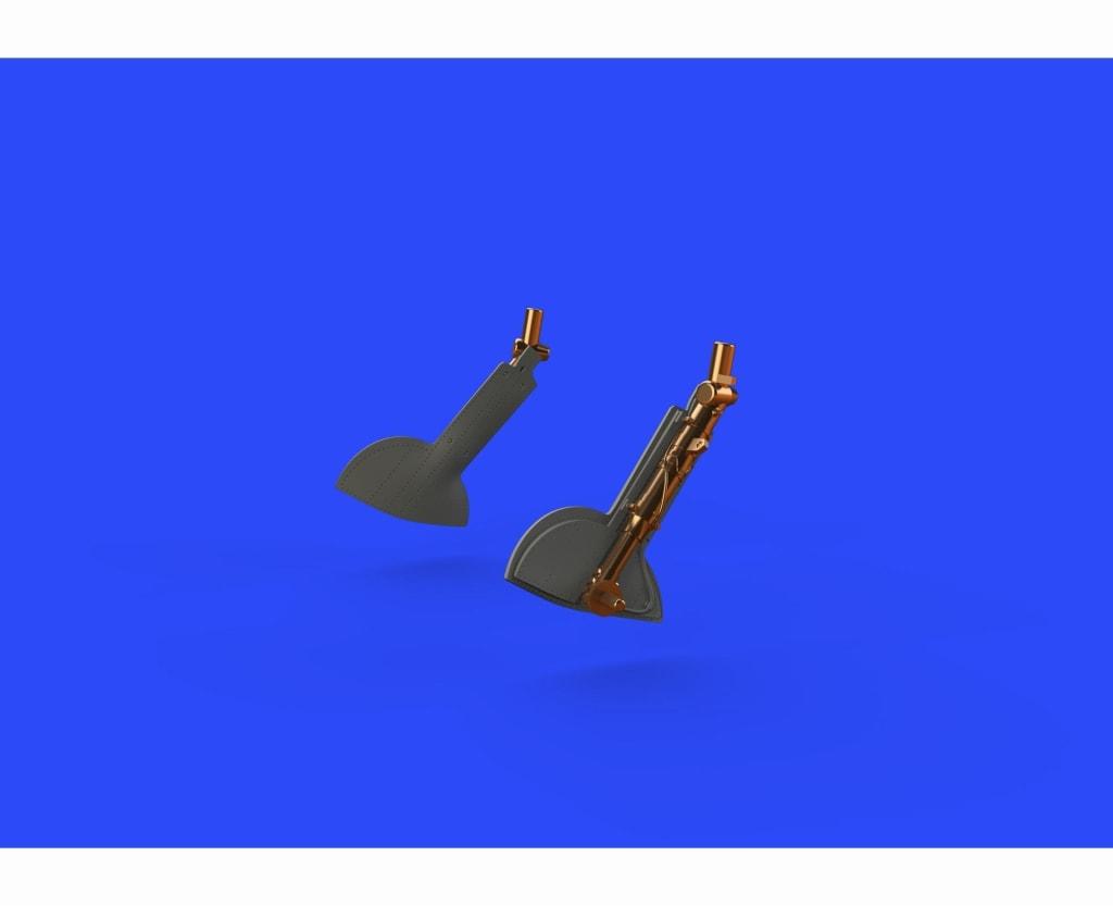 【新製品】ブラッシン632109)スピットファイアMk.IXc ブロンズ製主脚