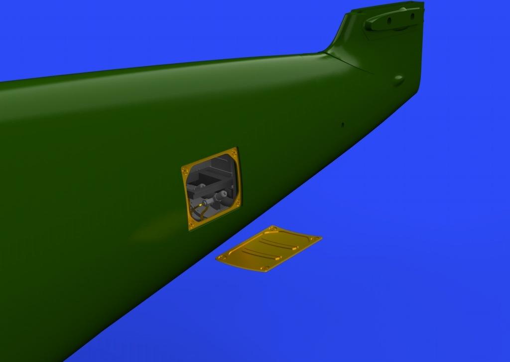 【新製品】ブラッシン648257)メッサーシュミット Bf109G-2/4 無線機