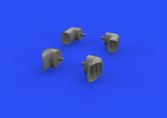 【新製品】ブラッシン648267)ハリアー GR Mk.7/9 排気ノズル
