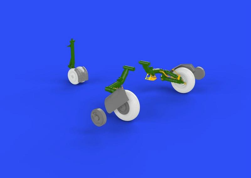 【新製品】ブラッシン648268)MiG-23BN 車輪