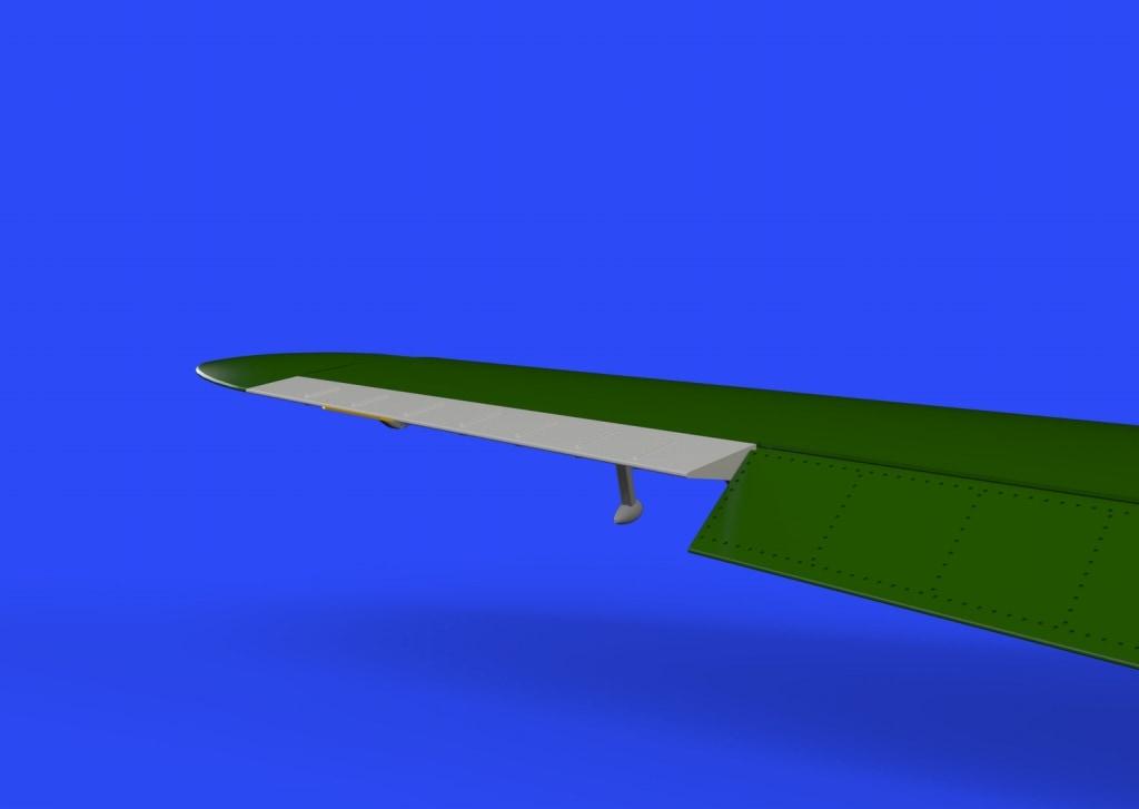 【新製品】ブラッシン648310)メッサーシュミット Bf109G 動翼