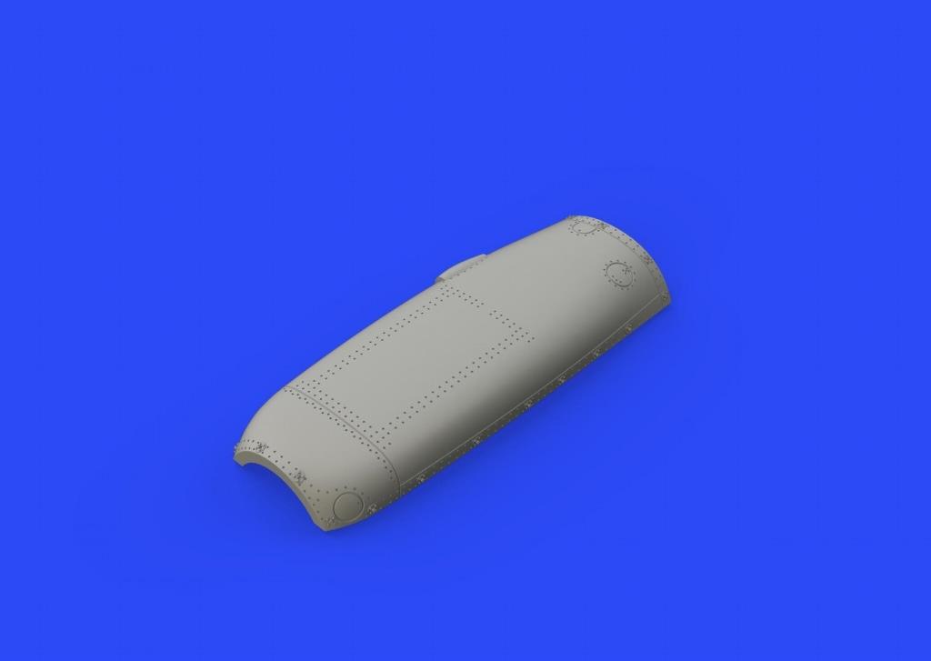 【新製品】ブラッシン648338)スピットファイアMk.VIII カウリング