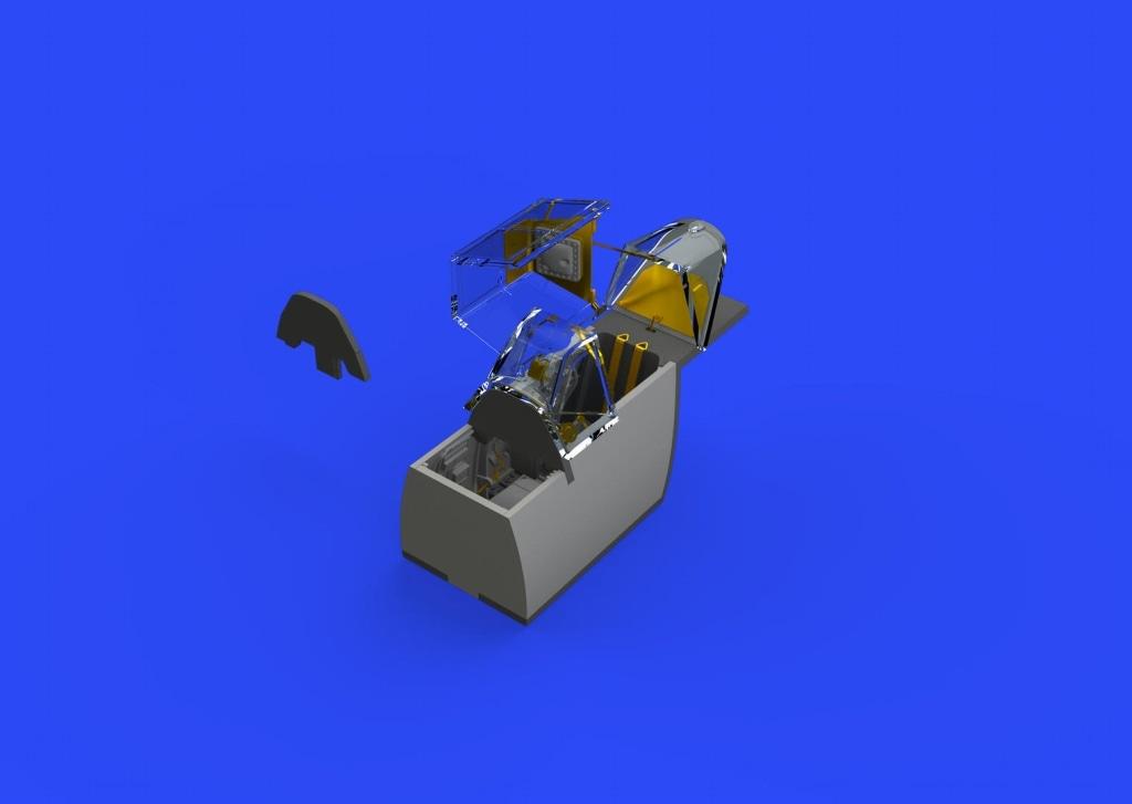 【新製品】ブラッシン648340)Bf109G-4 コクピットセット