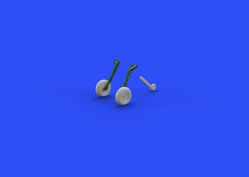 【新製品】ブラッシン672106)スピットファイアMk.IX 車輪 5スポーク スムースタイヤ