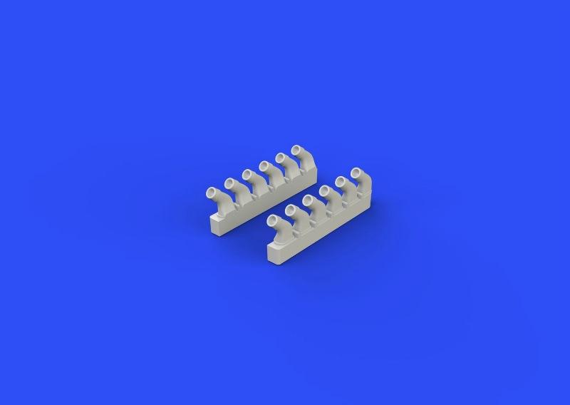 【新製品】ブラッシン672111)スピットファイア 排気管 円形