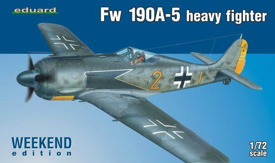 【新製品】7436)フォッケウルフ Fw190A-5 ウィークエンドエディション