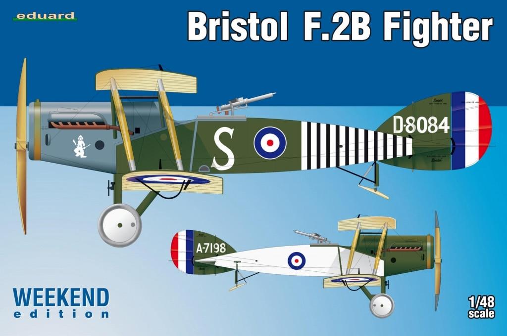 【新製品】8489)ウィークエンド ブリストル F.2B ファイター