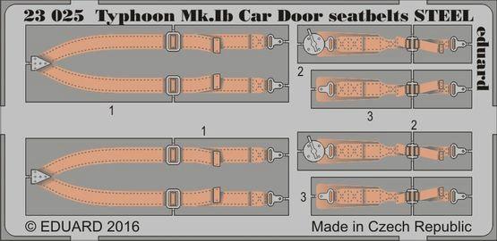 【新製品】23025)ホーカー タイフーン Mk.Ib カードア シートベルト