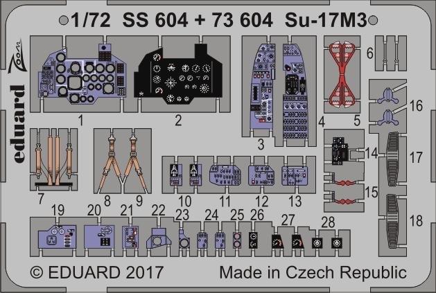 【新製品】SS604)塗装済 Su-17M3