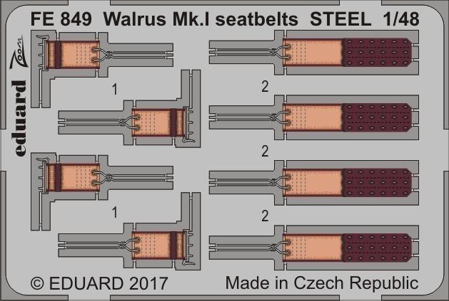 【新製品】FE849)塗装済 ウォーラス Mk.I シートベルト