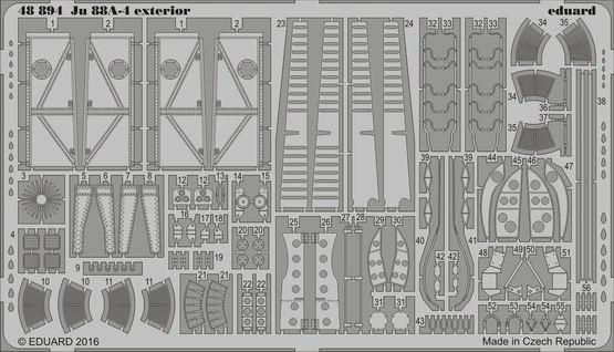 【新製品】48894)ユンカース Ju88A-4 外装