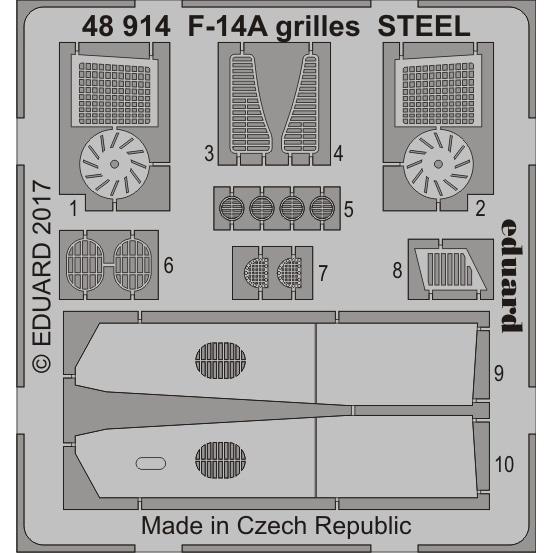 【新製品】48914)F-14A トムキャット グリル