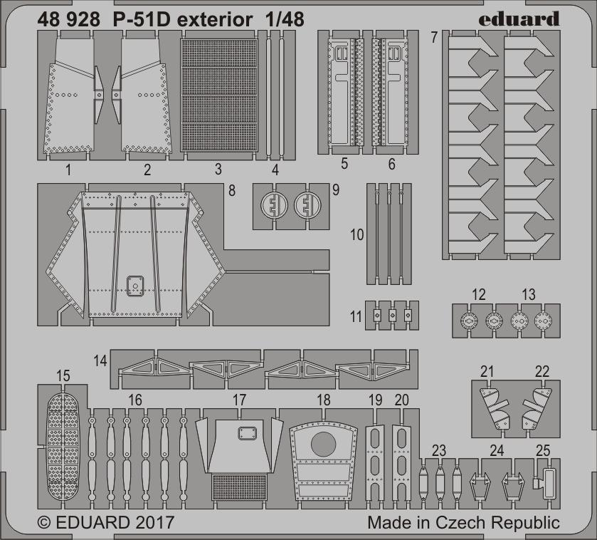 【新製品】48928)P-51D 外装