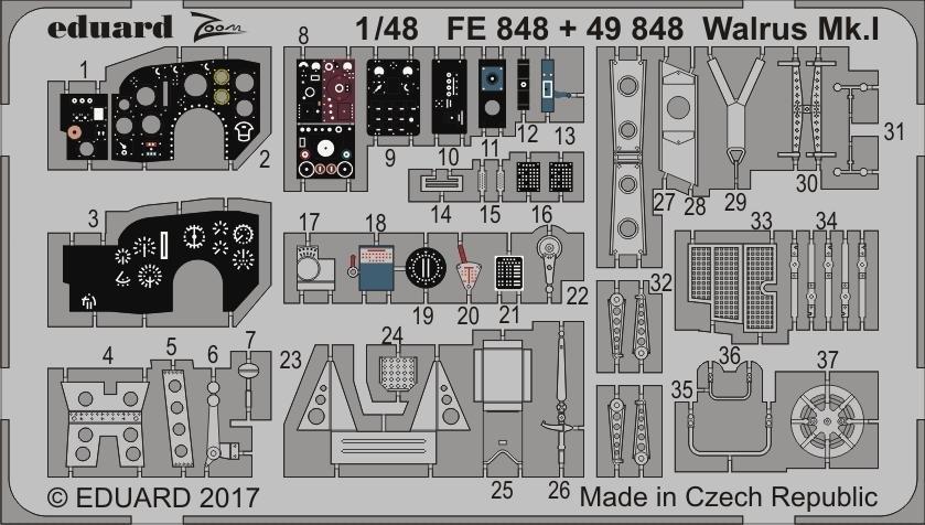 【新製品】49848)塗装済 ウォーラス Mk.I 内装