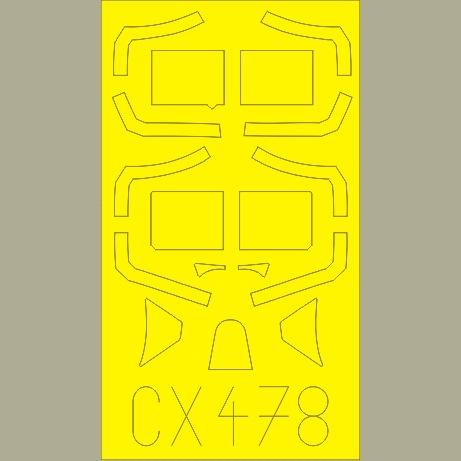 【新製品】CX478)スピットファイアMk.VIII